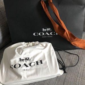 Coach Tea Rose Soho Leather Crossbody Bag